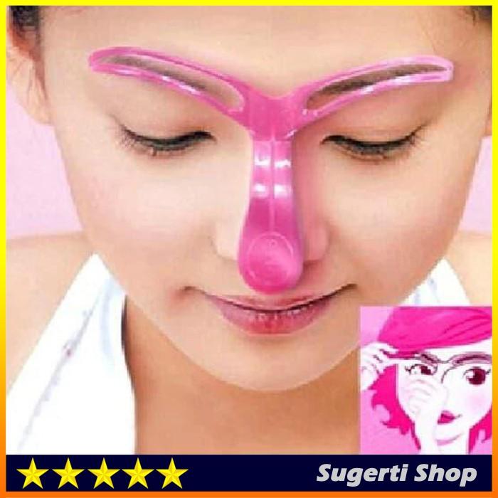 Cetakan Alis Mata Alat Bantu Kecantikan Alis Mata Make Up S366 Shopee Indonesia