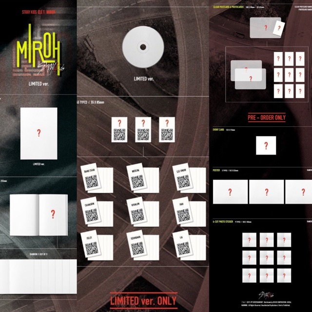 [DpRegPo] STRAY KIDS - Cle 1 : MIROH ( Limited Edition ) baca deskripsi dulu