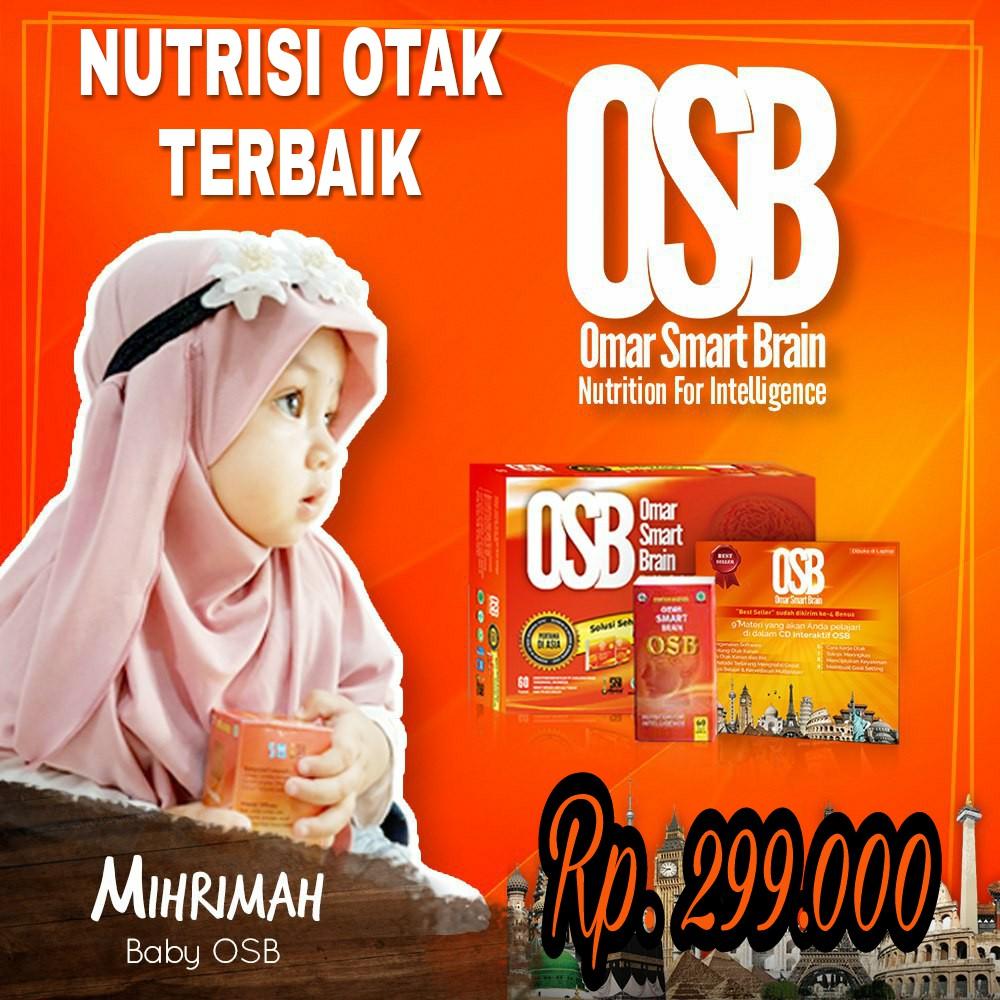Omar Smart Brain Nutrisi Otak Kecerdasan Osb Suplemen Anak Vitamin Smar Pintar Shopee Indonesia