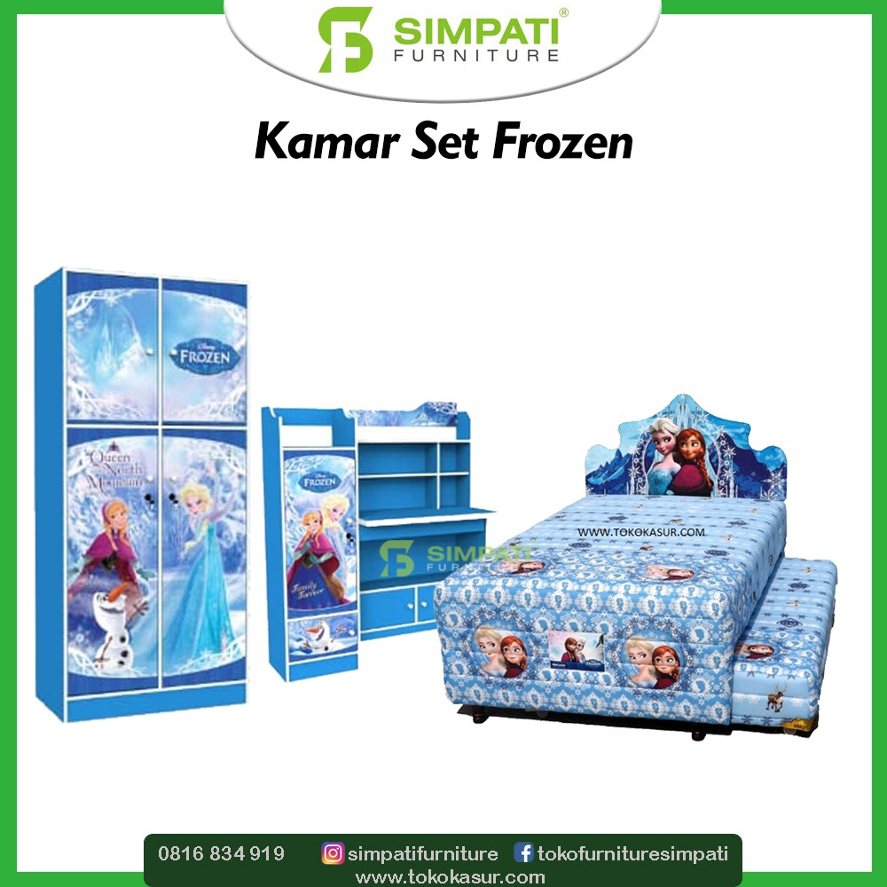 Kamar Set Anak Frozen Shopee Indonesia