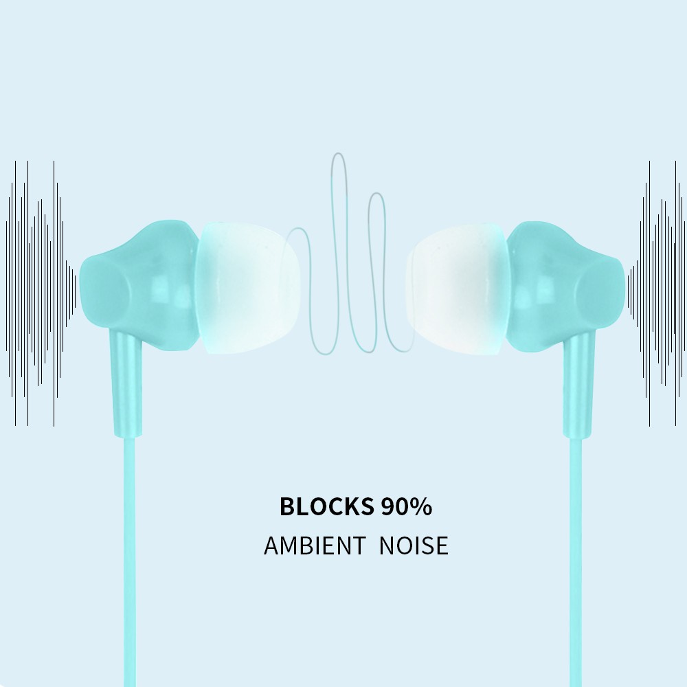 MINISO Earphone Mic Earbuds in Ear Headphone Noise Cancelling Awet Headset Universal #8