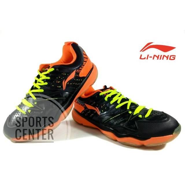 Sepatu Badminton   Bulutangkis Lining Premium AYTM071   AYTM 071 Lgreen    Orange  680b24c834
