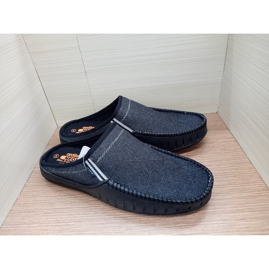 Ardiles Women Evelina Sepatu Slip On Biru Hitam Shopee Indonesia Glamour Abu Muda 40