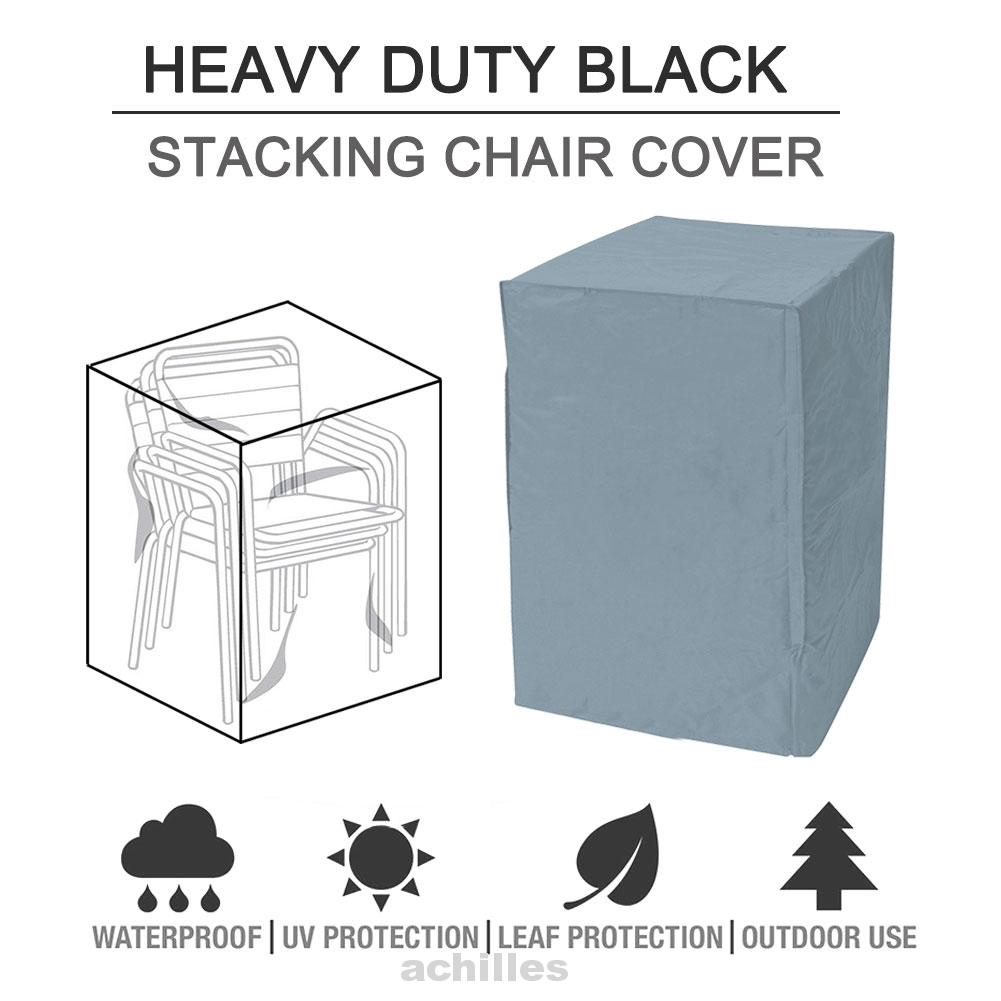Outdoor Chair Stack Cover Garden Protection Cover Waterproof
