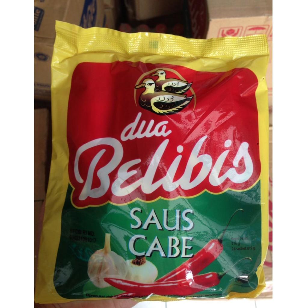 Saus Cabe Belibis Shopee Indonesia Bis Botol 6 X 140 Ml