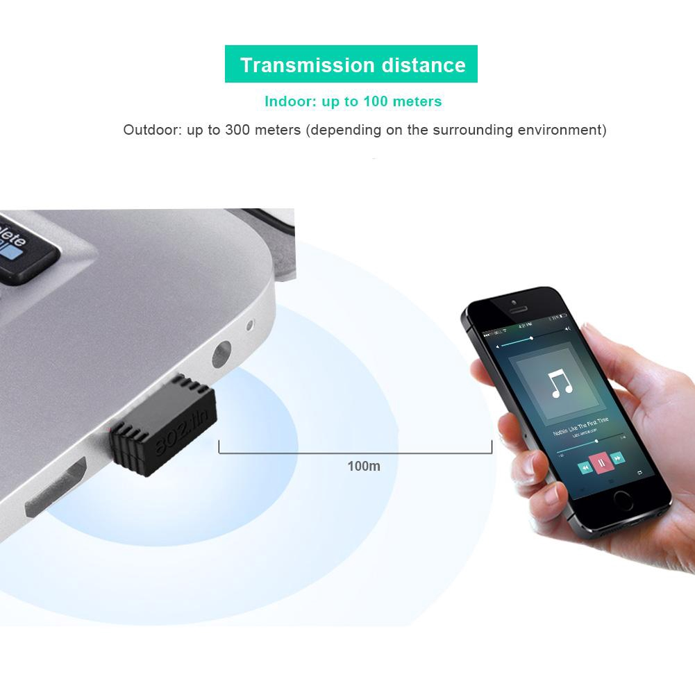 300Mbps Wireless Usb Wi-Fi Wlan Adapter 802.11 B//G//N Network Lan Dongle SP