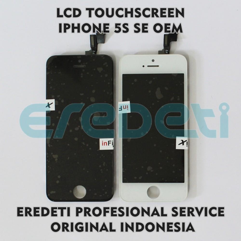 LCD+TOUCHSCREEN iphone 5S / 5G HITAM DAN PUTIH ORI Bergaransi | Shopee Indonesia