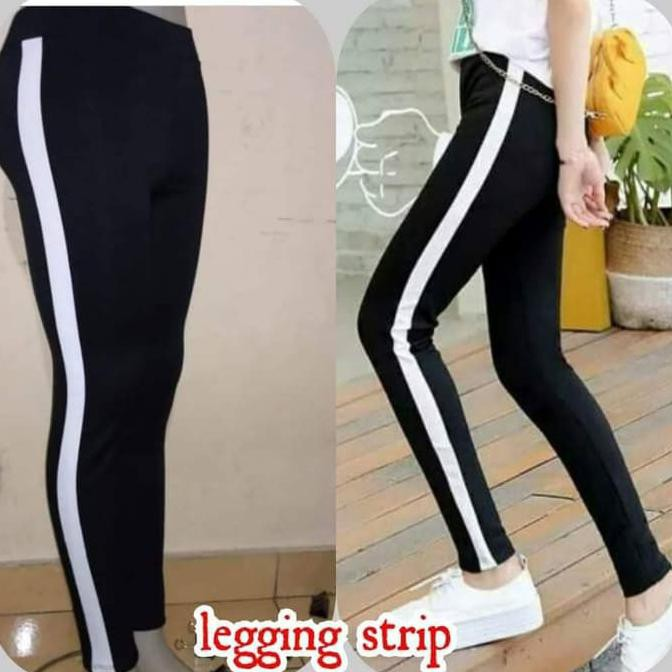Sedia Celana Panjang Jumbo Panjang Bigsize Legging Jumbo Nagita Stripe Scuba Bestseller Shopee Indonesia