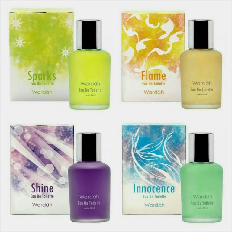 Wardah Parfum Eau De Toilette EDT Minyak Wangi Innocence Sparks Shine Flame Eternal | Shopee Indonesia