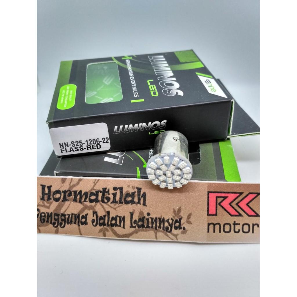 Lampu Rem Led Gel Silica 12 Titik Smd 2835 Mode Kedip Blitz Jelly Bayonet Silikon Putih Bohlam Silicon Strobo Ready Dan Merah Shopee Indonesia