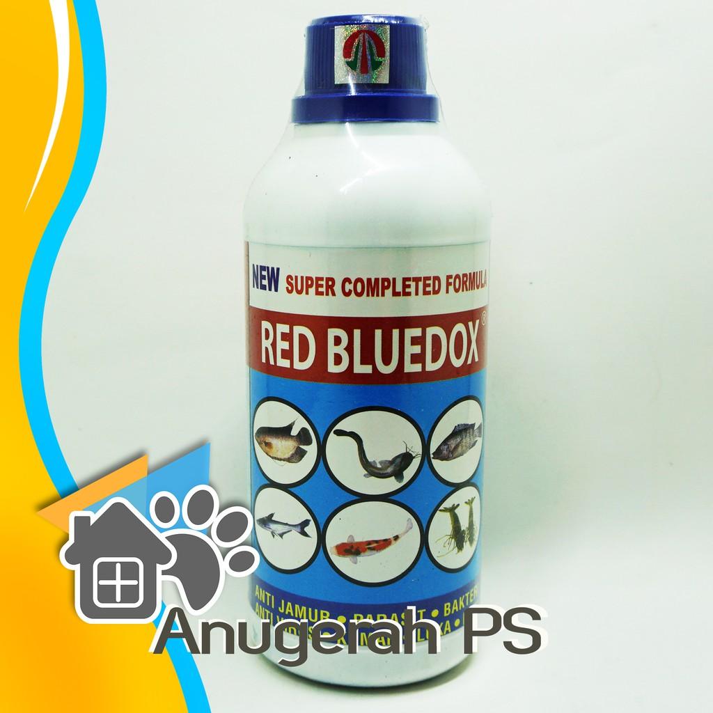 Red Bluedox 500 Ml Obat Ikan Anti Jamur Parasit Bakteri Shopee Indonesia
