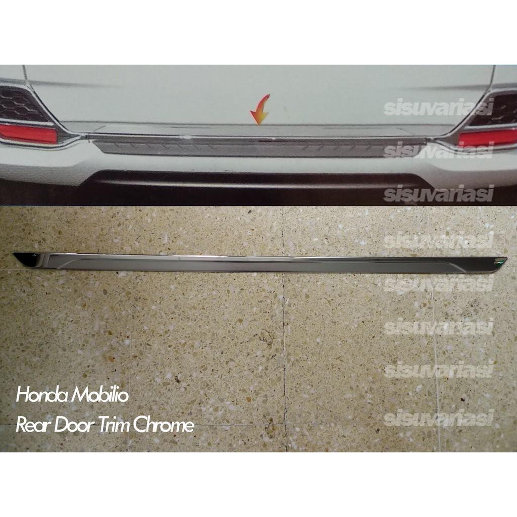 List Pintu Belakang Rear Door Trim Chrome Mobilio Jsl Shopee
