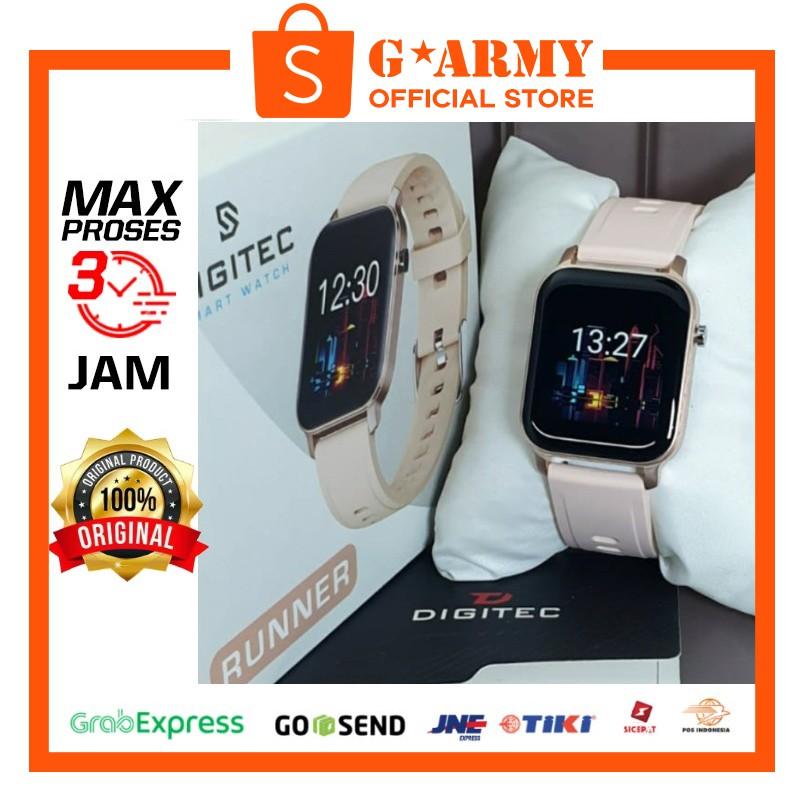 Jam Digitec RUNNER Cream - Jam Tangan RUNNER - DIGITEC SMARTWATCH