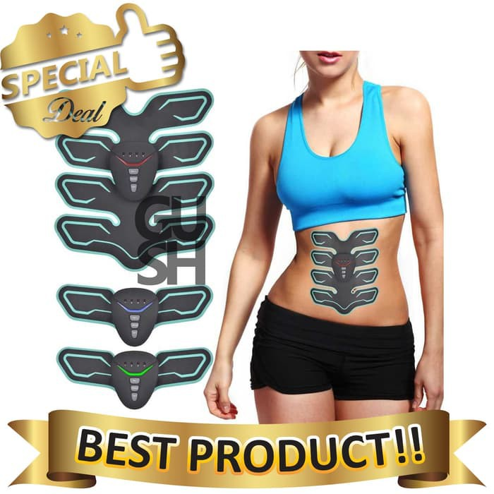 Fitness & Body Building Obedient Smart Abdominal Muscle Trainer Ems Abdominal Instrument Body Shaping Slimming Sticker Muscle Stimulator