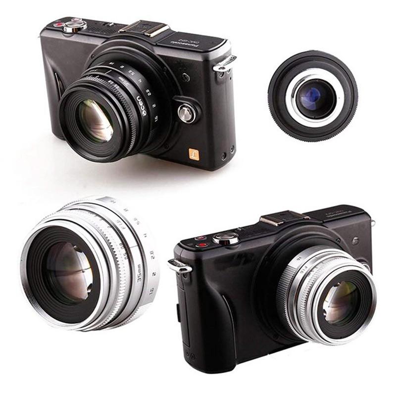 Mini 35mm F1.6 APS-C Television TV Lens/CCTV Lens for 16mm C Mount ...