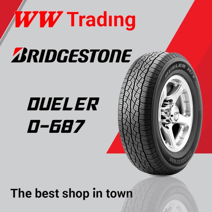 BAN BRIDGESTONE DUELER D687 235/60 R16/ 235 60 16