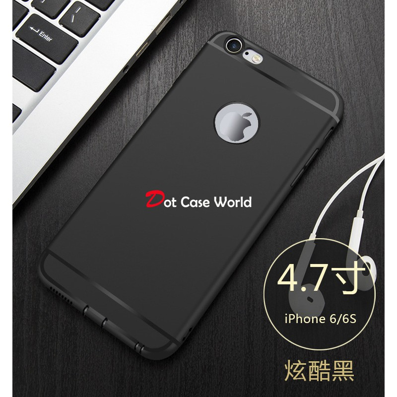Anti oil CASE Iphone 4 4S 5 5S 6 6S 6+ 7 7S 7+ 8 8+ X SLIM BLACK MATTE  SOFTCASE SOFT  4448a37d7e