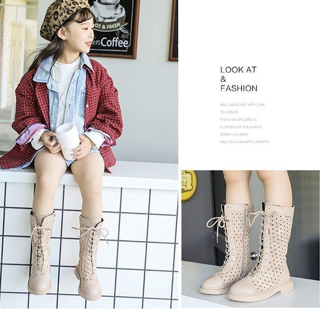 Ready Q 717 Babyfit Suede Girls Boots Sepatu Anak Perempuan