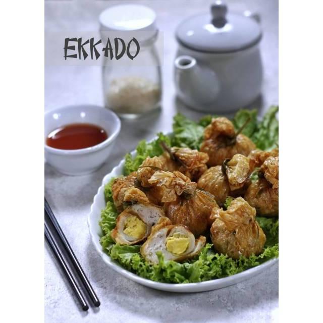 Isi 10 Ekkado Homemade Halal Frozen Food Bento Makanan Jepang