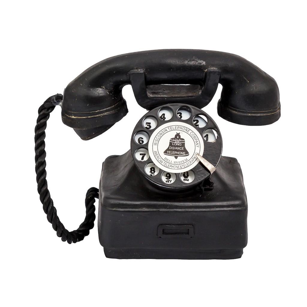 Kolepon | pajangan hiasan meja telepon unik vintage shabby dekorasi | Shopee Indonesia