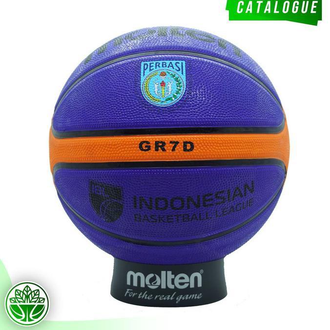 Bess Seller bola basket outdoor>> Bola Basket Molten GR7D Blue ( Outdoor ) BolaBasketBagus