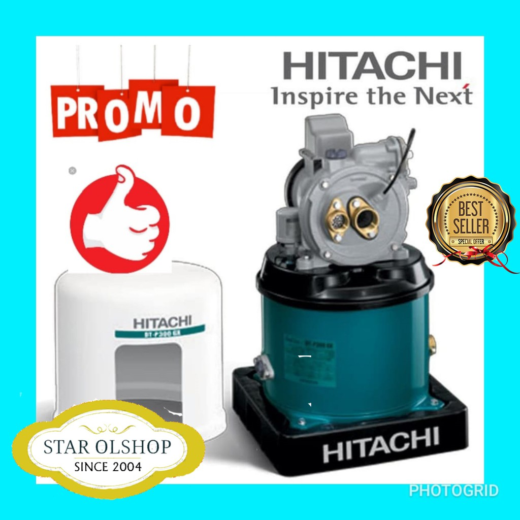 Pompa air jet pump 30 mtr HITACHI DTP 300 GX   Shopee ...