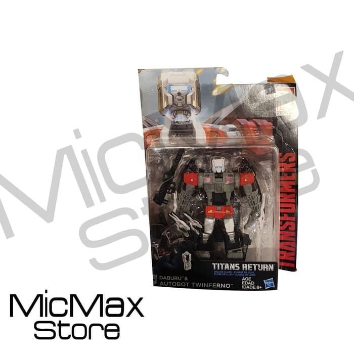 Transformers Generations Titans Return Daburu /& Autobot Twinferno