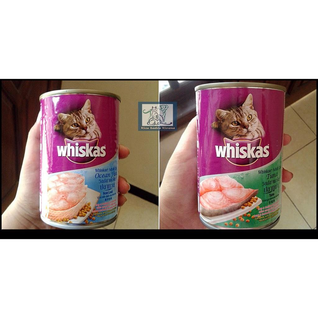 Whiskas Can 400gr Kaleng Makanan Kucing Basah Shopee Isi 24 Pack Pouch 85gr Rasa Grilled Saba Indonesia