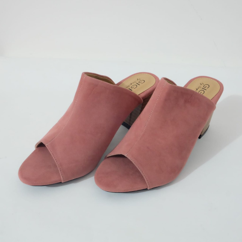 Nagita Iris Hazelnut Heels With Rosemary Strap Shopee Indonesia Amazara Cara Flatshoes Beige 41