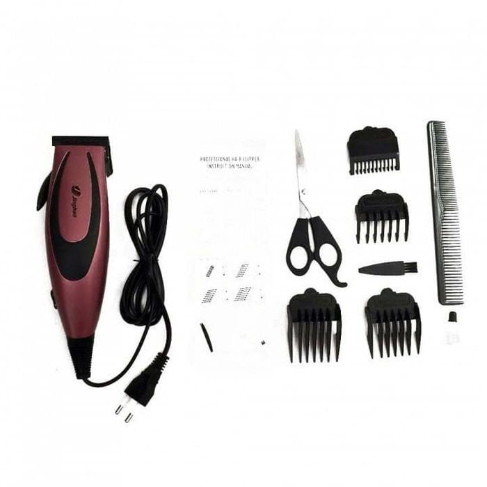 Mesin Alat Cukur Rambut Listrik Terbaik Happy King Hk-900 Putih - Potong  Pangkas Hair bc0c1c531c