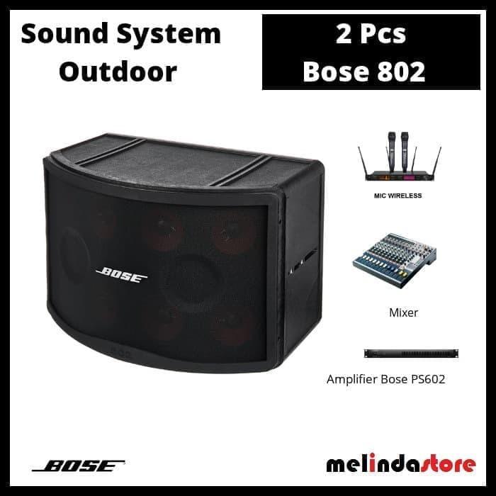 Bose Sound System >> Paket Sound System Outdoor Tahan Air Bose 802