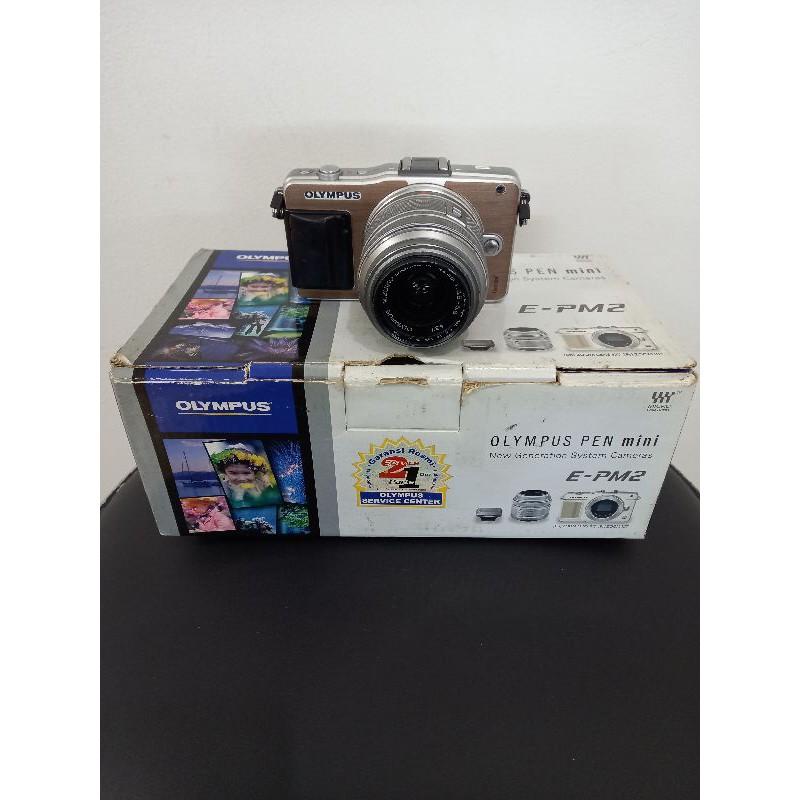 Kamera Mirrorless Olympus Pen E-PM2 Kit 14-42mm