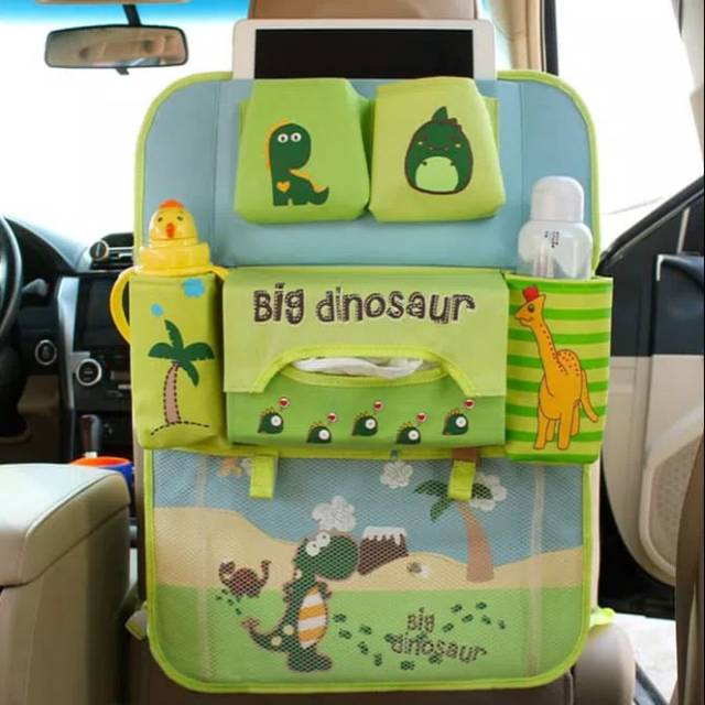 Dino Car Seat >> Car Seat Organizer Dino Lion Ver3 Tas Mobil