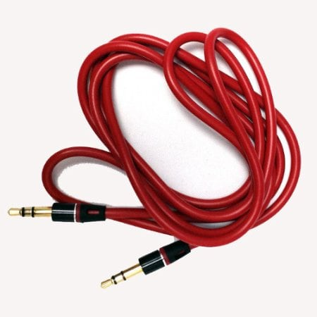OL TERMURAH Replacement 3.5mm Red Jack Cord Cable Wire for Beats By on