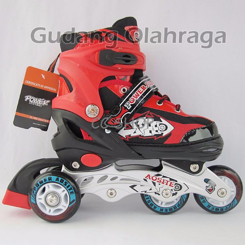 Sepatu Roda Ban Karet + Dekker S M L  6097c46914