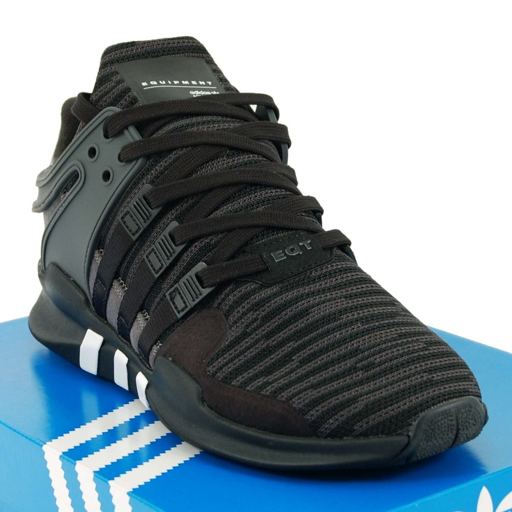 dcced90d9e98f ADIDAS EQT ADV BasketBall Core Black High Premium Original Sepatu ...