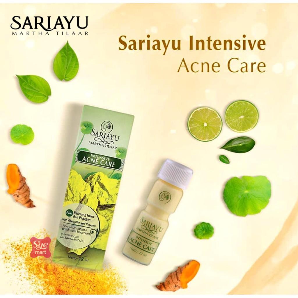 Sariayu Intensive Acne Care Mujisat Tolak Jerawat