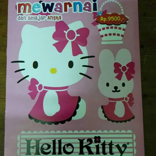 Buku Mewarnai Gambar Hello Kitty Shopee Indonesia