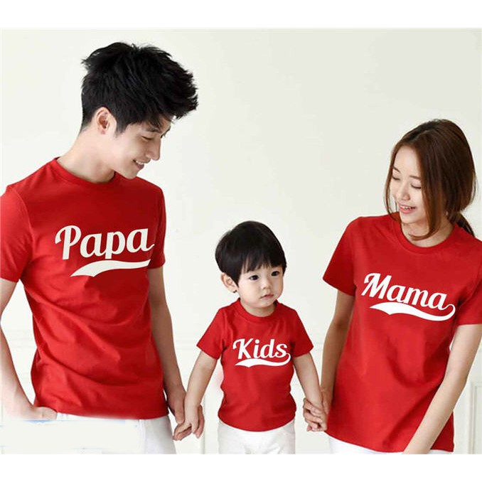 Setelan Baju + Celana Baju Family Couple / Kaos Pasangan Keluarga Set Paul 9366   Shopee Indonesia