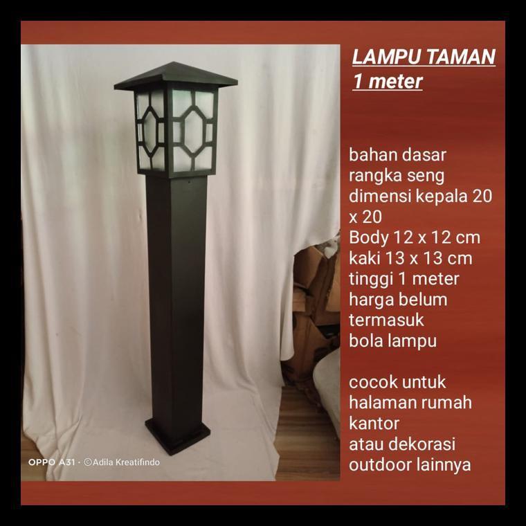 Hot Deal Lampu Hias Taman Minimalis Halaman Rumah Tm0099 Shopee Indonesia