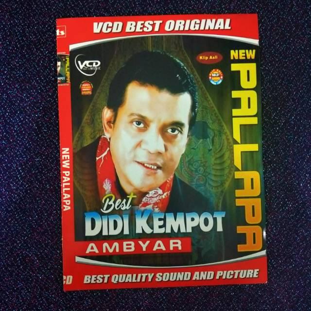 Vcd Dvd Lagu Terlaris Best Bew Pallapa Didi Kempot Ambyar Shopee