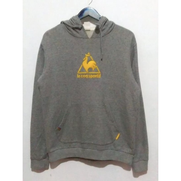hoodie jaket second thrift le coq abu