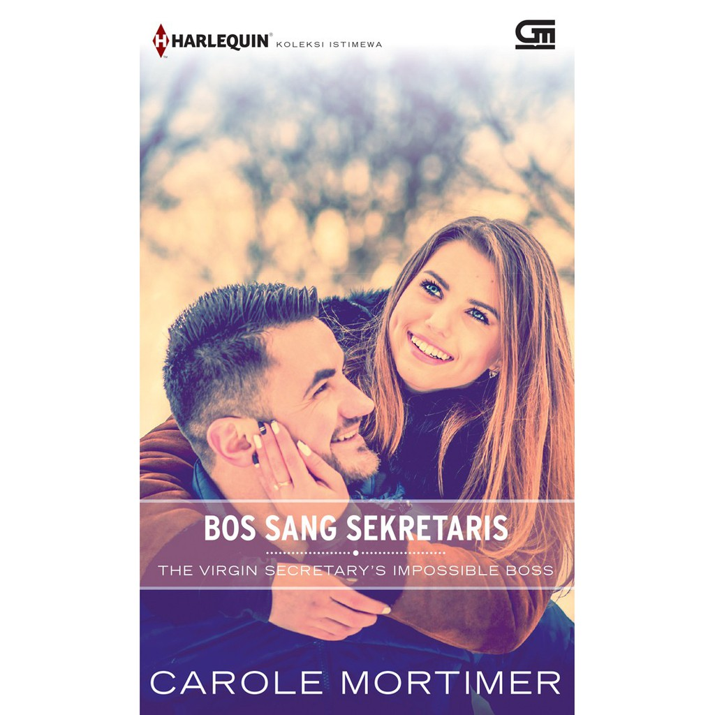 HKI Bos Sang Sekretaris The Virgin Secretary S Impossible Boss Soft Cover Oleh Carole Mortimer