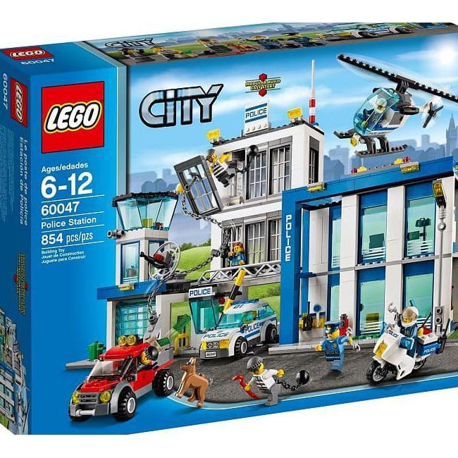 Model Kit Toys Lego City Police Station 60047 Shopee Indonesia