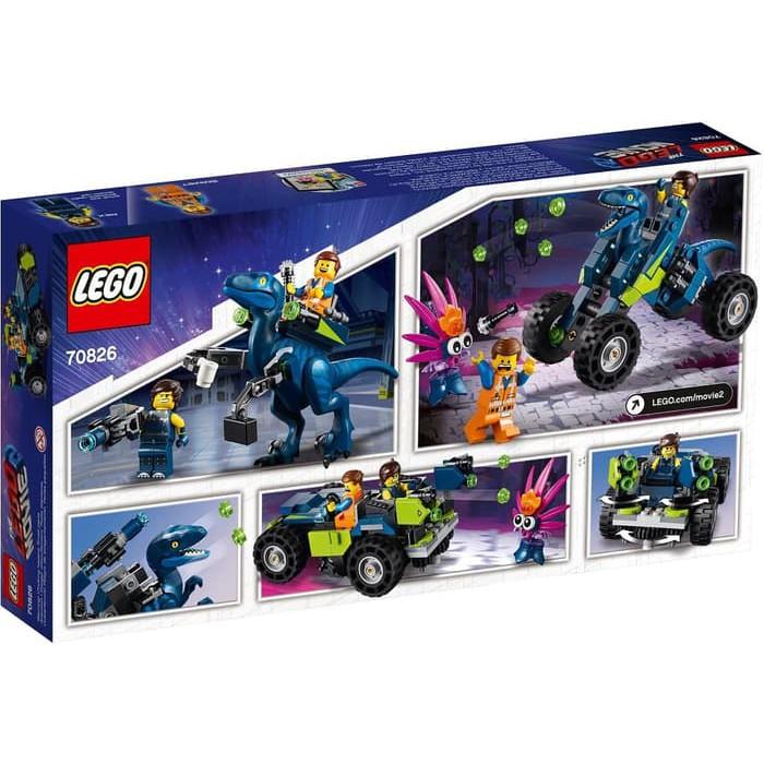 70826 New /& Sealed LEGO The Lego Movie 2 Rex/'s REX-treme Offroader!