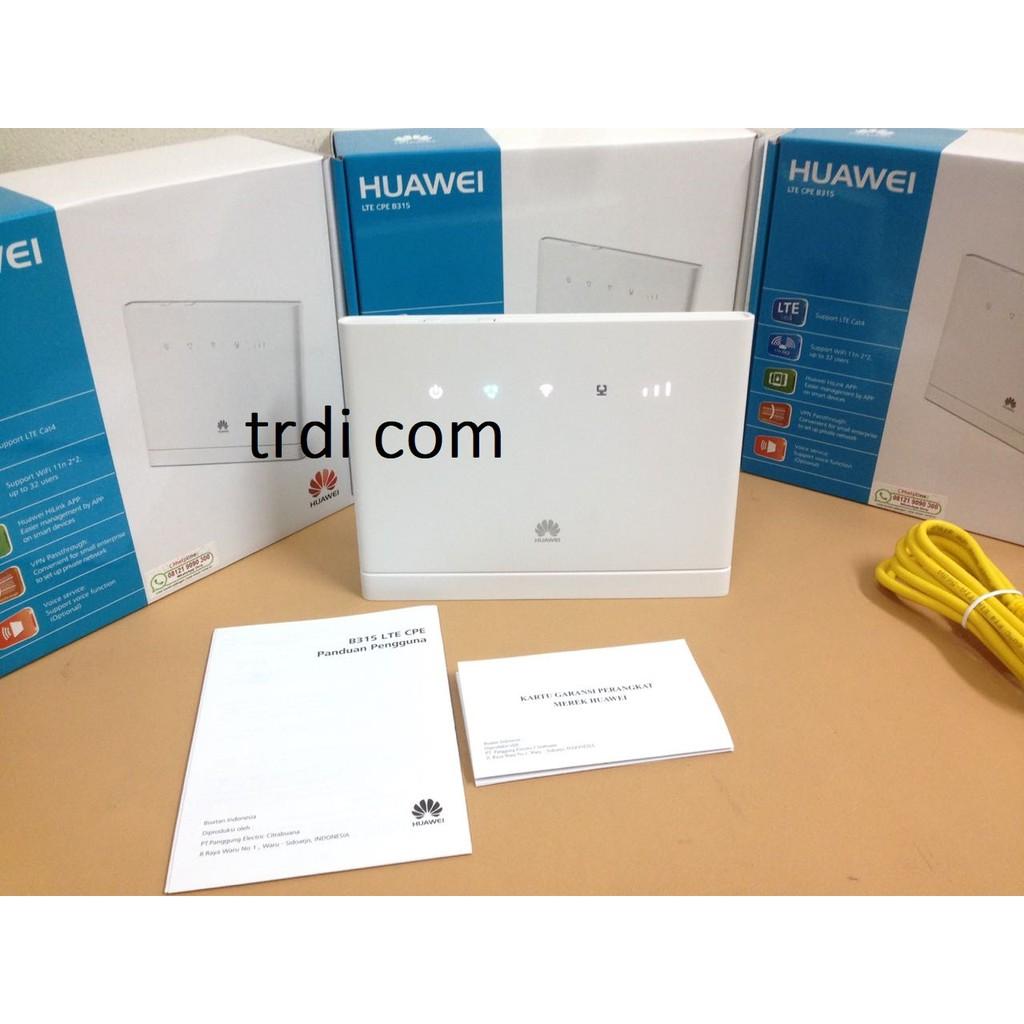 Home Router Huawei 4g B311 Unlocked Tsel 14gb Garansi Resmi Shopee Antena Indoor Xl B310s Bolt Bl100 B310 B315 B683 Indonesia
