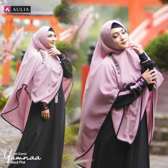 Gamis Aulia Terbaru Yumna Blackpink Shopee Indonesia