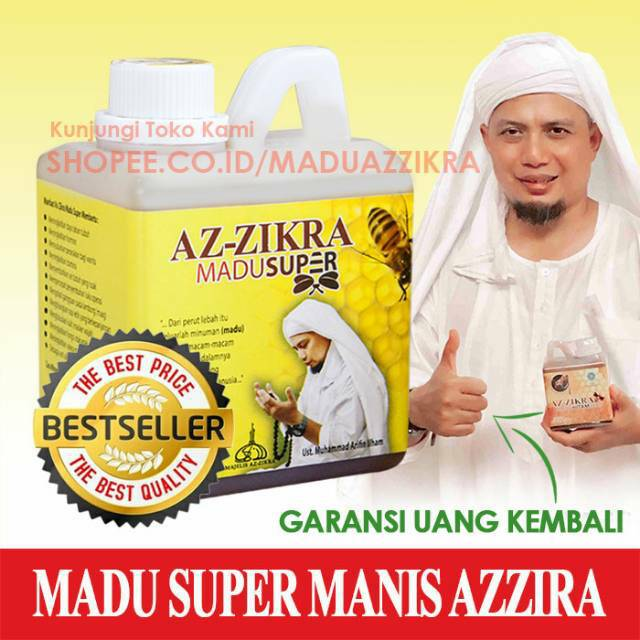 MADU SUPER AZ-ZIKRA 500 gr Madu MANIS AzZikra Az Zikra | Shopee Indonesia