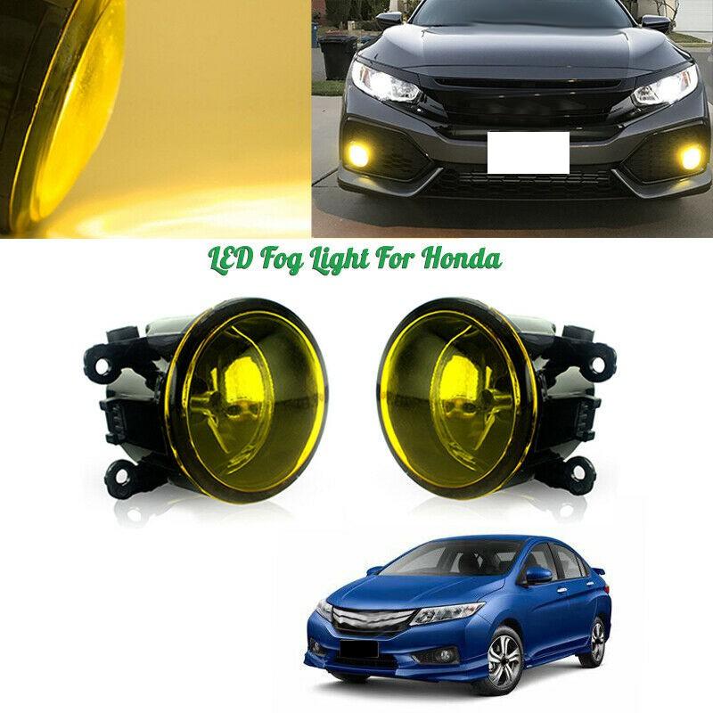 Clear Lens LED Fog Driving Light Pair for Ford Mustang Lincoln Navigator New