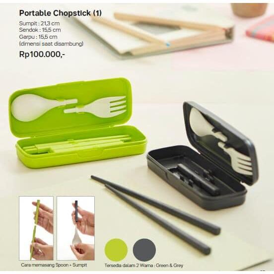 Portable chopstick | Shopee Indonesia -. Source · Set Sendok Makan Sumpit dan Kotak Warna